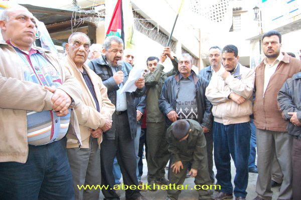 مسيرات في مخيم البداوي و البارد بمناسبة يوم الشهيد