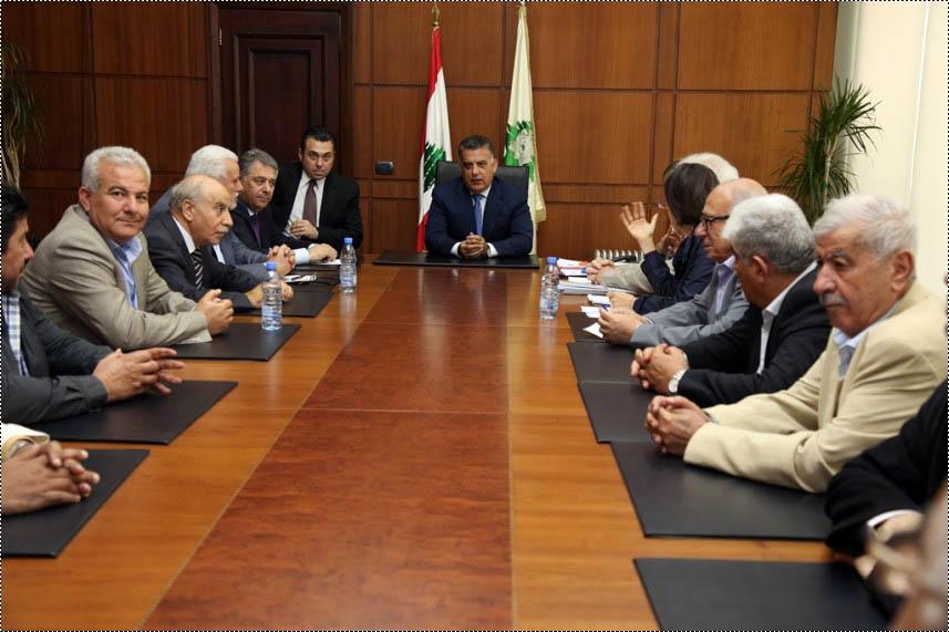 انطلاق الحوار بين الفصائل والأونروا برعاية اللواء عباس إبراهيم