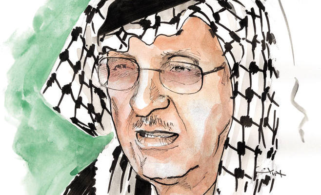 رحيل قيثارة الفلسطينيين أبو عرب  مخلفا وراءه 300 أغنية تداعب حلم العودة