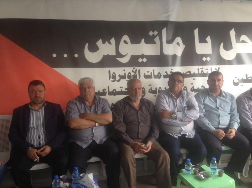 اعتصام فلسطيني – لبناني في صيدا رفضاً لتقليصات الأونروا