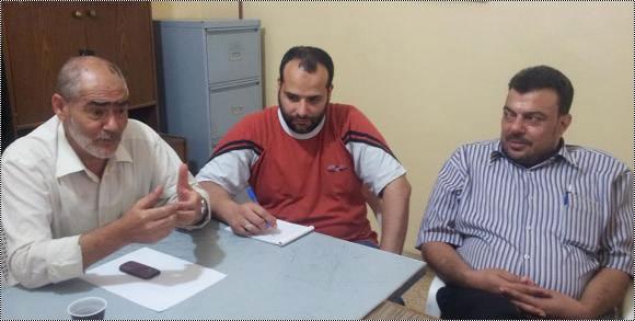 مخيم البداوي / لقاء تشاوري في مقر اللجنة الشعبية