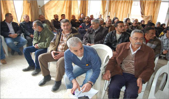 مخيم البداوي يتضامن مع الاسرى في السجون الصهيونية