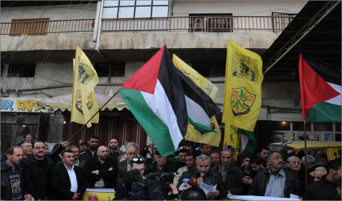 حركة فتح في مخيم البداوي تتضامن مع الأسرى في المعتقلات الصهيونية