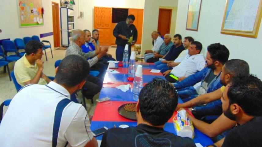 لقاء للأندية الرياضية في مخيم برج الشمالي