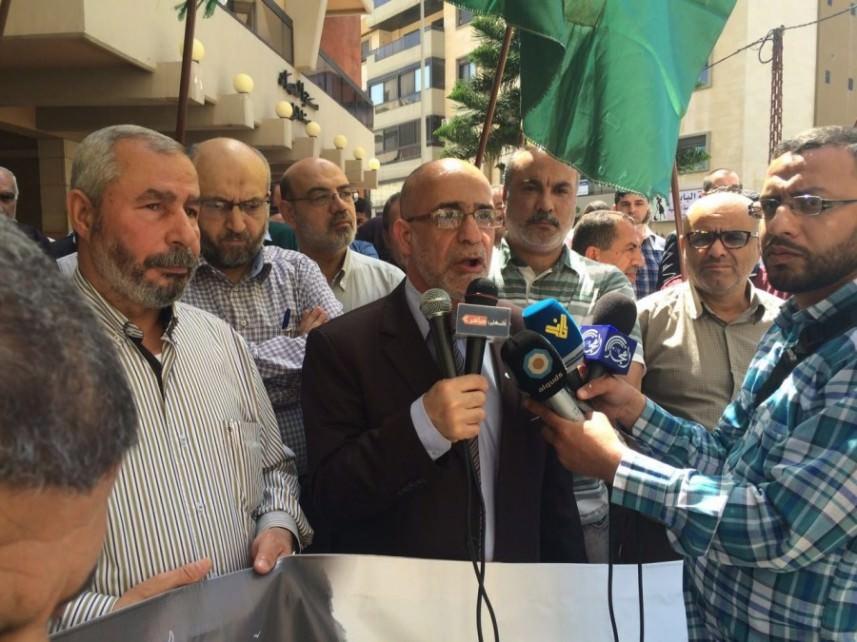 اعتصام تضامني مع الأسرى في السجون العدو في طرابلس