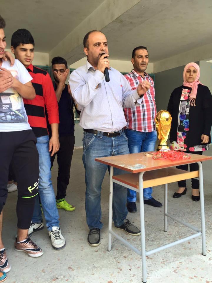 نشاطات رياضية لطلاب فتح في مخيم البداوي لمناسبة يوم الأسير