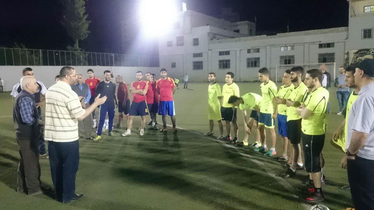 مباراة كأس الشهداء والأسرى بين نادي الخليل الرياضي ونادي الشبيبة الفلسطيني