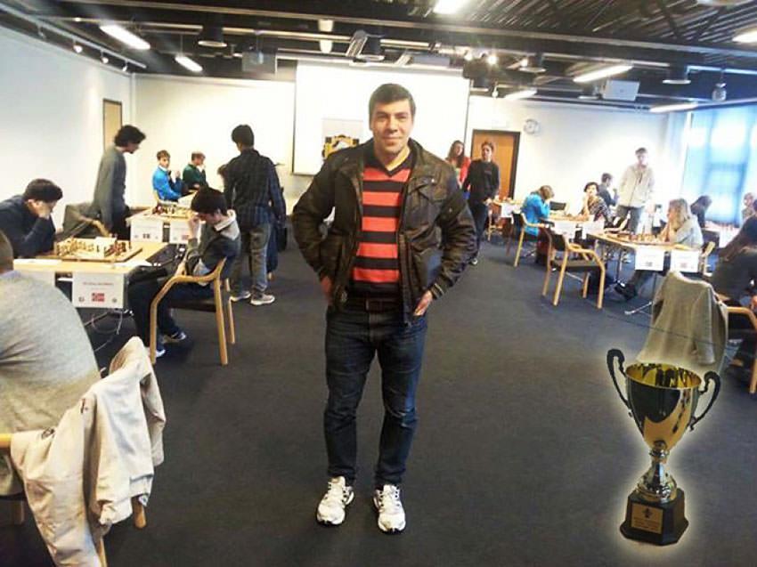 فوز فلسطيني من اليرموك بالمركز الأول لبطولة ستافنجر الدولية للشطرنج