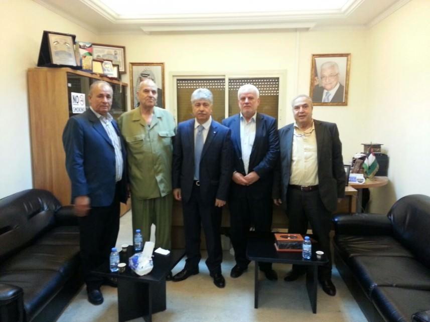 اجتماع في السفارة الفلسطينية لاستمرار التحركات لمواجهة سياسة الأونروا