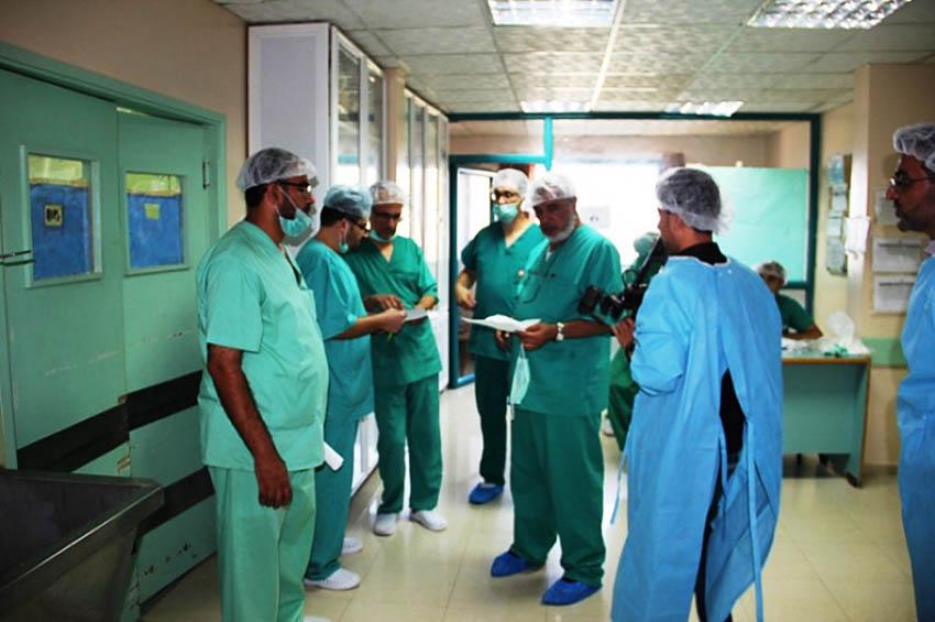 وفود طبية أجنبية تجري عمليات صعبة بجنين