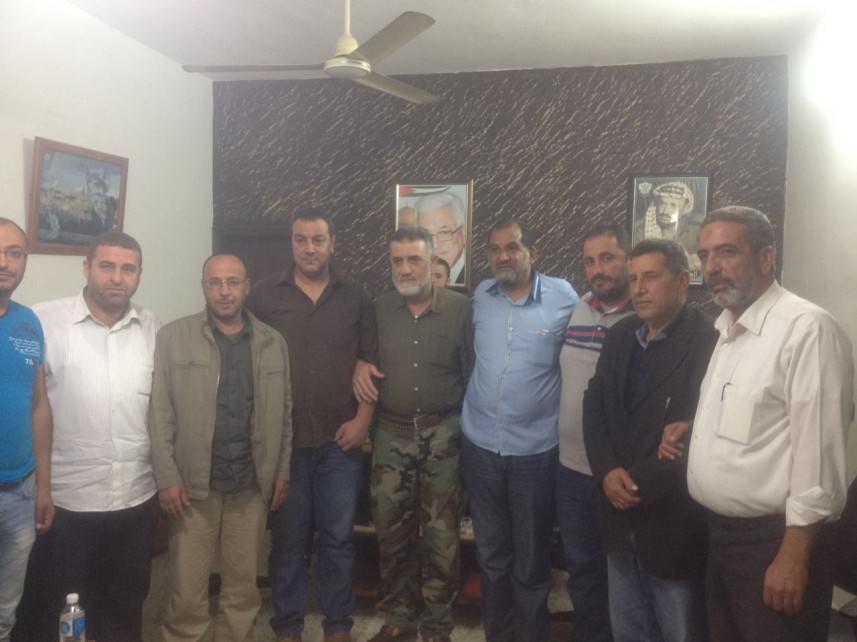 مصالحة بين عائلتين برعاية القوة الأمنية في مخيم عين الحلوة