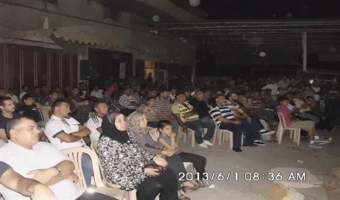 فيلم [ أنا مش حقي رصاصة حقي أعيش ] يعرض في البداوي