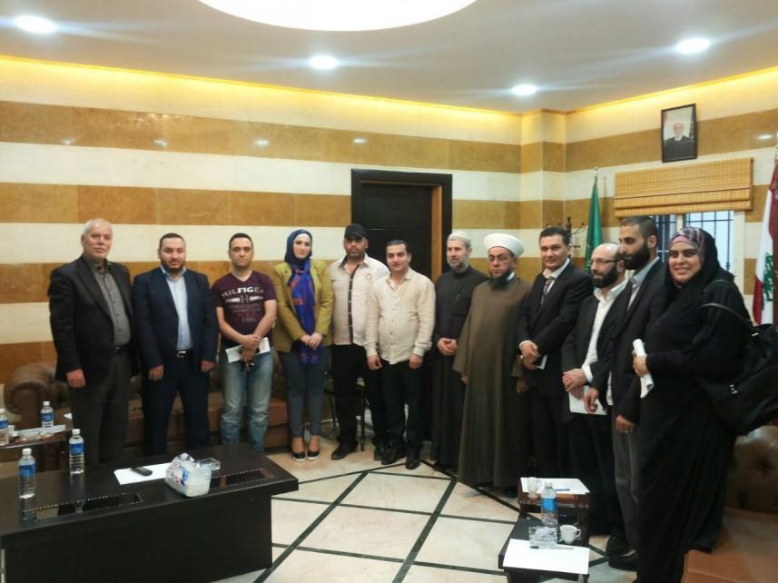 جمعيات مدينة عكار أطلقت صندوق الخير لدعم الفلسطينيين