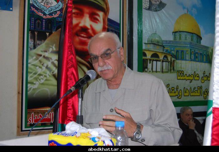 جبهة التحرير العربية تحيي ذكرى انطلاقتها الـ43 في مخيم البداوي