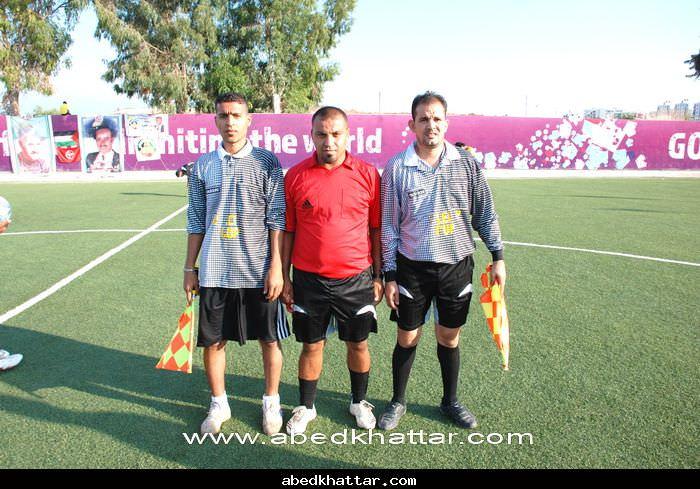 فريق الدرة الفلسطيني مخيم البداوي يفوز على فريق شبيبة فلسطين
