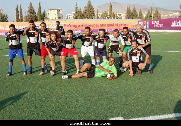 مباراة بذكرى استشهاد سميح المدهون في مخيم البداوي