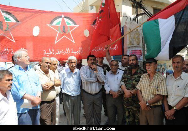 اعتصام جماهيري في مخيم البداوي احتجاجاً على تقليصات الانروا الطبية