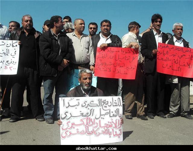 نازحو مخيم نهر البارد يواصلون اعتصامهم المفتوح