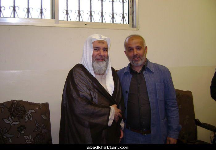 قام وفد من القياده العامه منطقة الشمال بزيارة الشيخ هاشم منقاره
