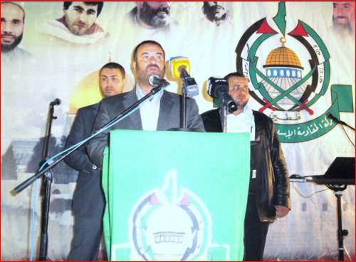 حركة حماس تحيي مناسبة أسبوع الشهداء في مخيم البداوي