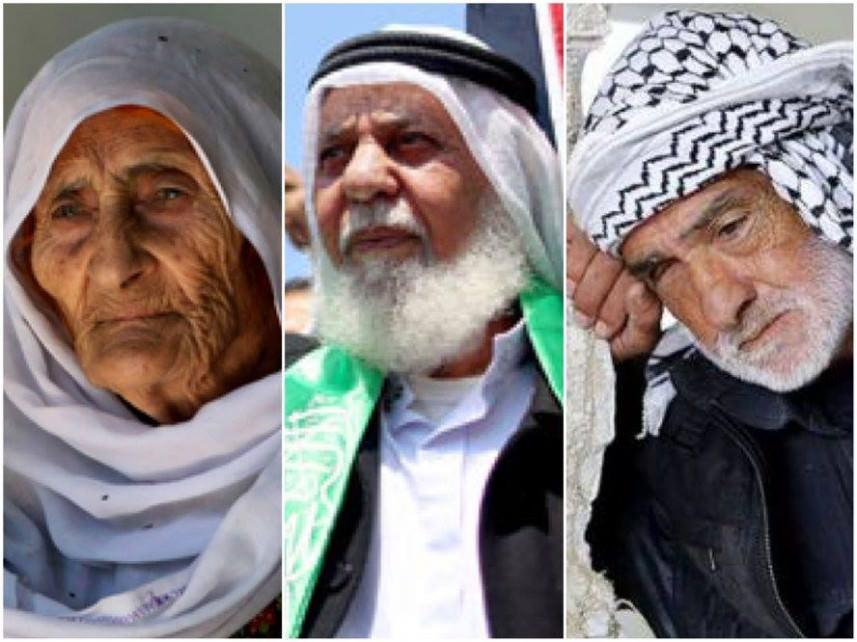 إطلاق مسابقة أكبر مسن فلسطيني في لبنان