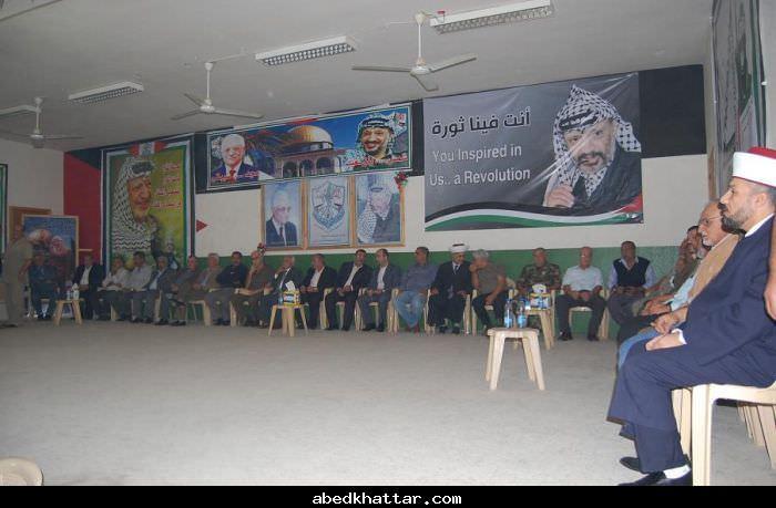 منطقة الشمال تحيي ذكرى ياسر عرفات السادسة بمهرجان جماهيري كبير