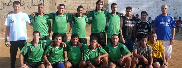 فوز نادي الاشبال الفسطيني على نادي فلسطين الرياضي