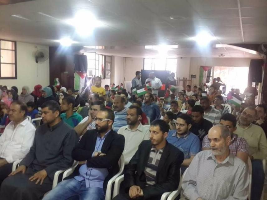 فلسطينيو سوريا في لبنان احيوا ذكرى النكبة في البداوي