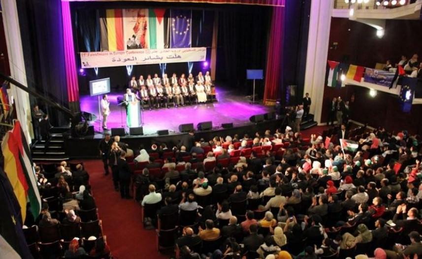 انطلاق فعاليات مؤتمر فلسطينيي أوروبا 14 بالسويد