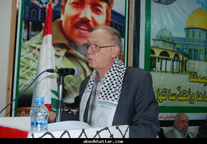 مهرجان جماهيري في مخيم البداوي في الذكرى 47 لانطلاقة حركة فتح
