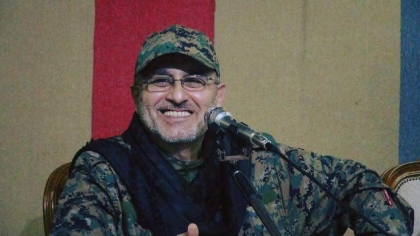 حزب الله يشيع جثمان مصطفى بدر الدين في بيروت