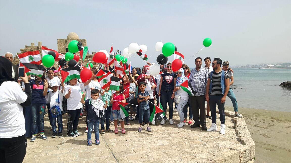 نشاط لجمعية تواصل في ذكرى النكبة والتحرير