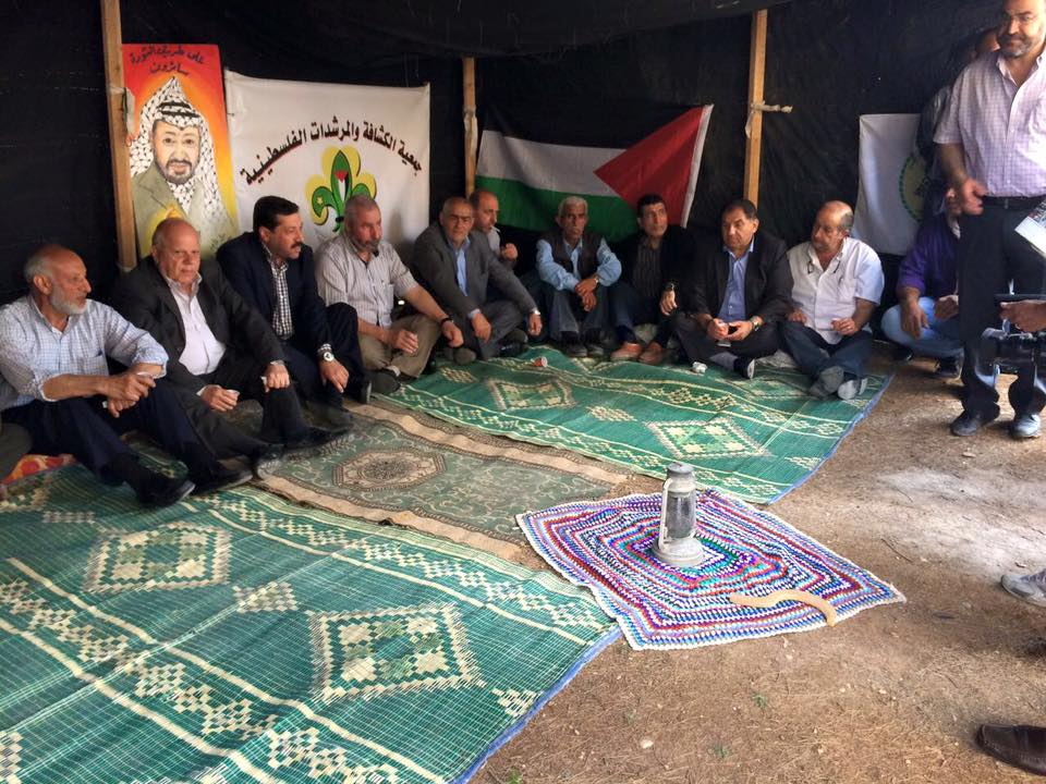 حركة فتح تحيي ذكرى النكبة بمعرض تراثي في مخيم البداوي