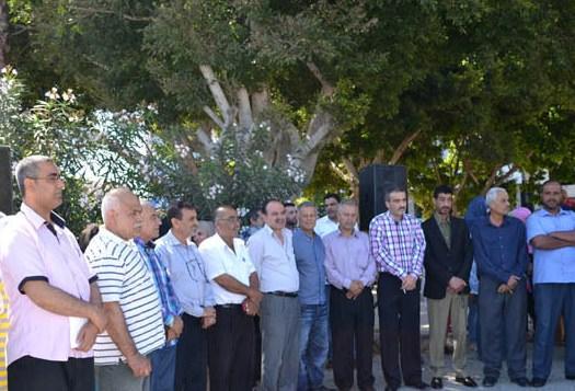 اعتصام للائتلاف اللبناني الفلسطيني في صور بمناسبة عيد العمال