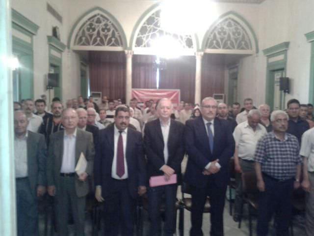قوى اليسار الفلسطيني واللبناني تحيي ذكرى النكبة والبارد بمهرجان حاشد