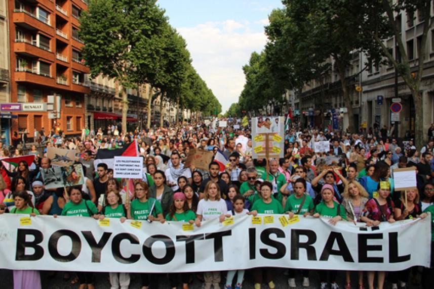 Bds تشن حملة ضد شركة بريطانية لدعمها إسرائيل