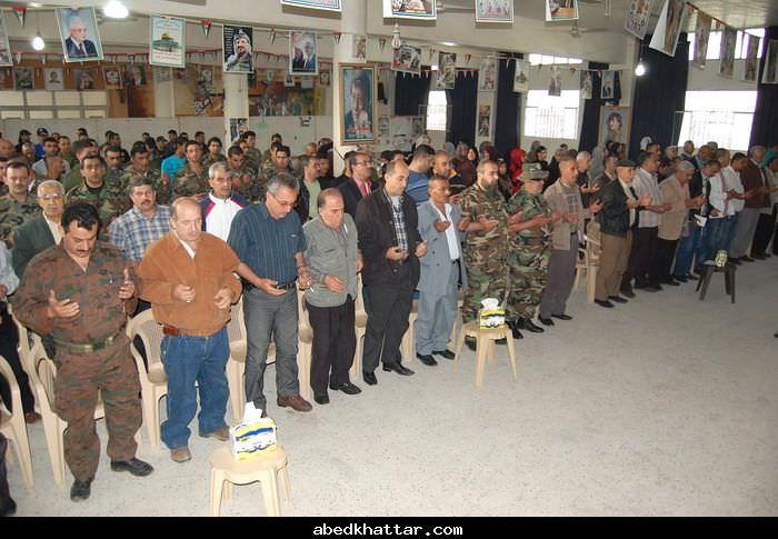 حركة فتح تكرم العمال في مخيمي البداوي والبارد
