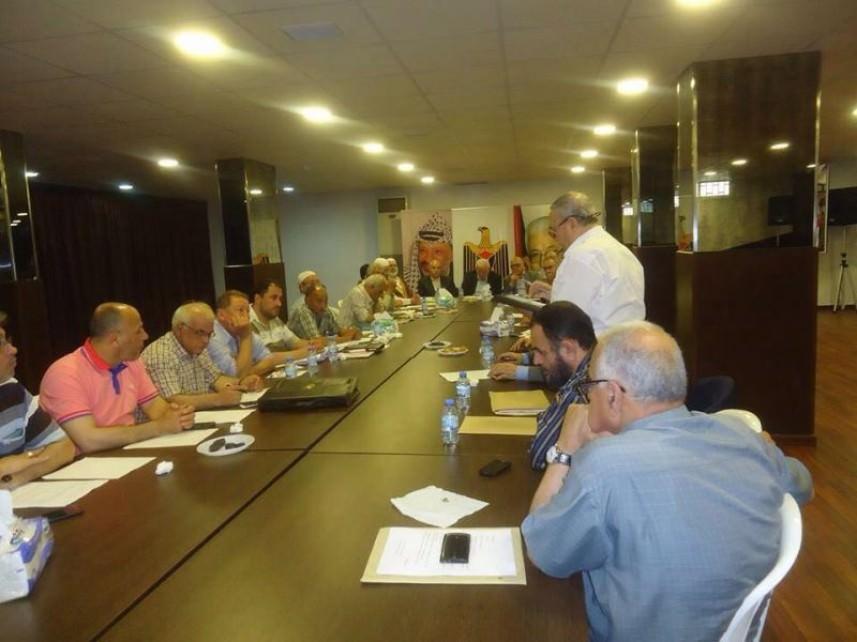 الفصائل الفلسطينية تلتقي لجان الحوار مع الأونروا في بيروت