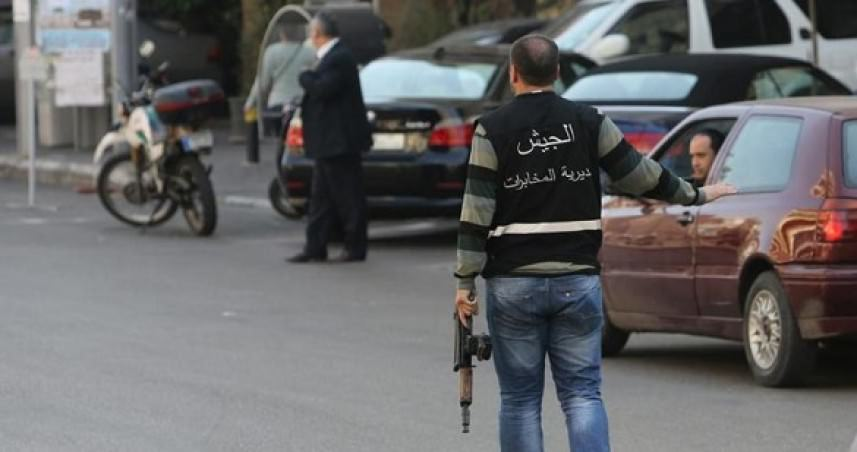 مخابرات الجيش اللبناني توقف أربعة فلسطينيين في الرشيدية