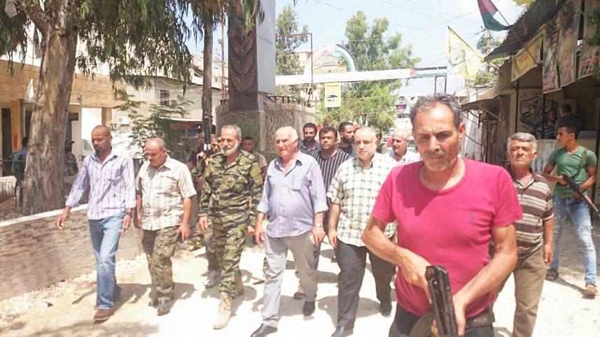 أبو عرب يترأس اجتماعاً في عين الحلوة || للحفاظ على أمن المخيم والجوار