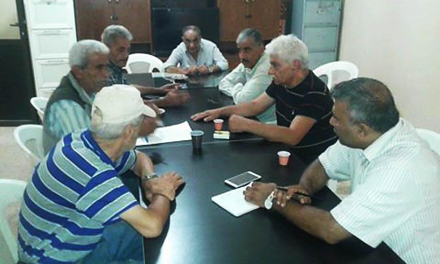 الأونروا تلتقي اللجان الشعبية || مخطط شامل لحاجات البداوي