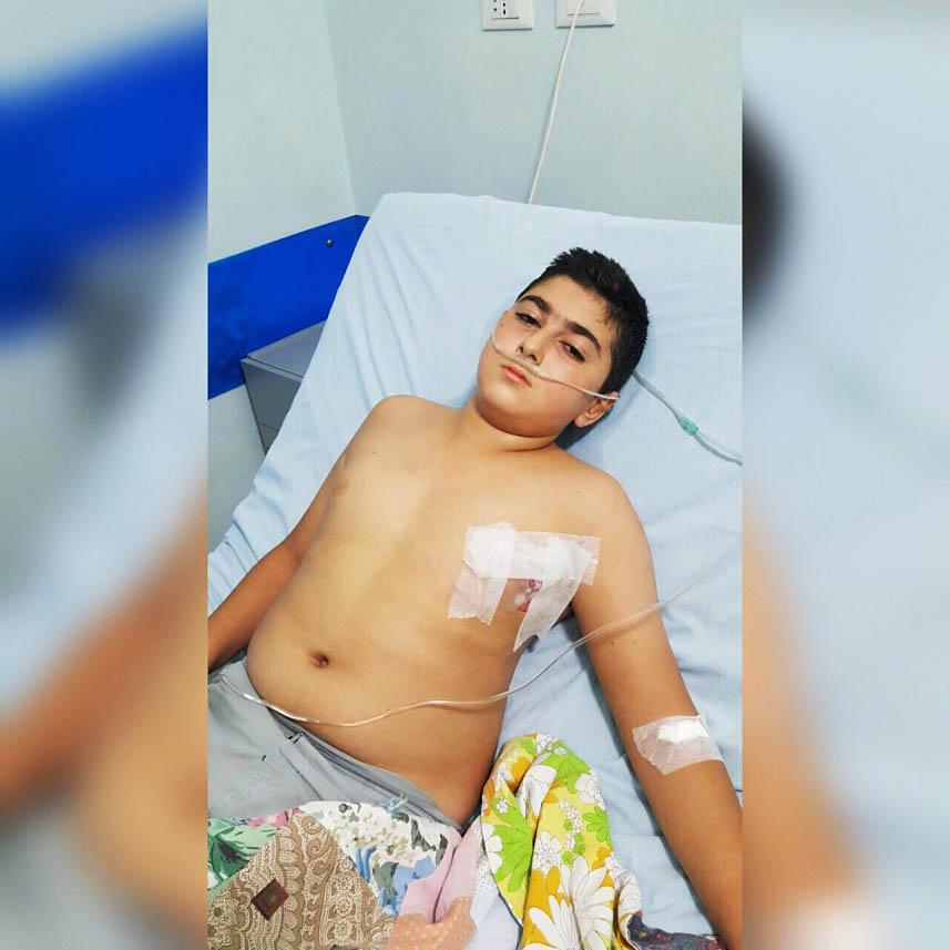 إصابة طفل عن طريق الخطأ خلال إطلاق نار في عين الحلوة