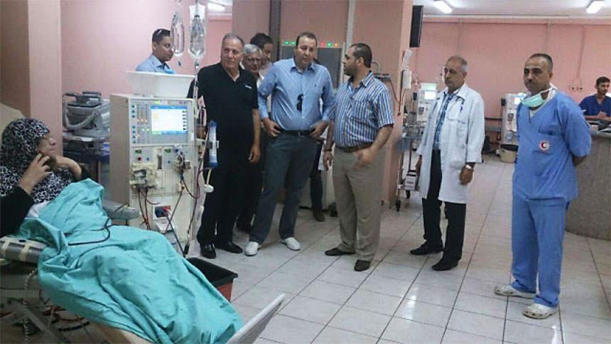 جولة ميدانية في مشفى الهمشري للإطلاع على سير العمل
