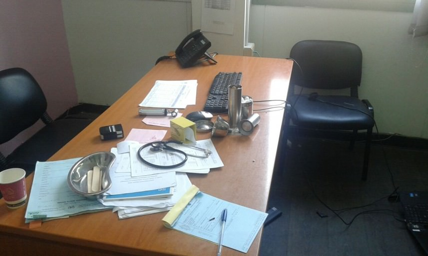الاعتداء على عيادة الأونروا في بئر حسن