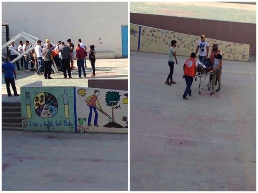 إصابة طالب في ثانوية بيسان بمخيم عين الحلوة