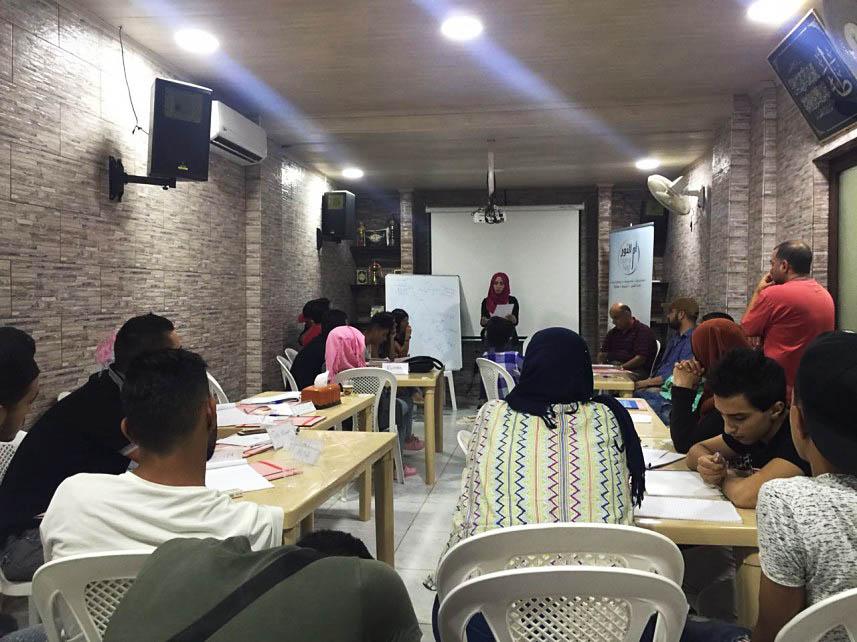 دورة تدريبية للوقاية من المخدرات في شاتيلا