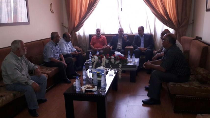 وفد من التحالف يلتقي مسؤول الملف الفلسطيني في حزب الله
