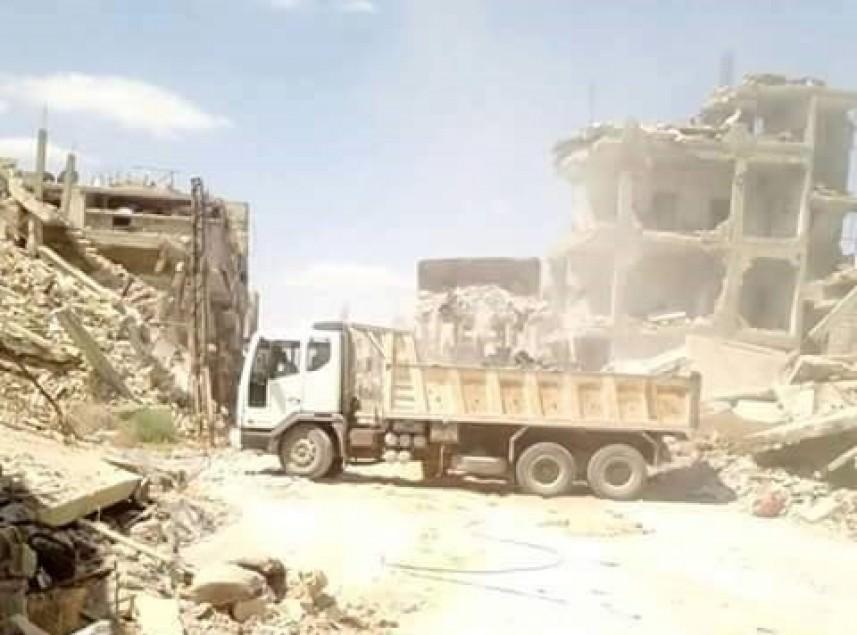 تأهيل البنية التحتية في السبينة.. واستمرار تقديم الخدمات الطبية لعائلات اليرموك