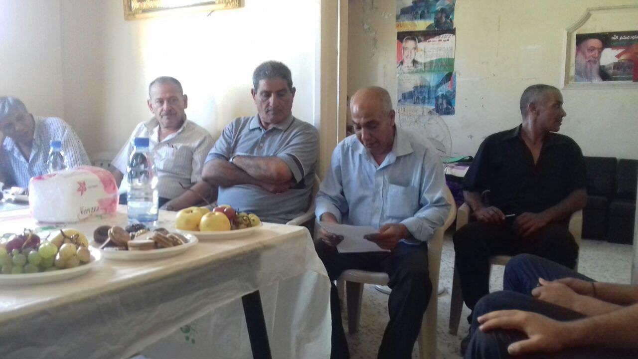 القيادة العامة تكرم كوكبة من الإعلاميين في مخيم برج الشمالي