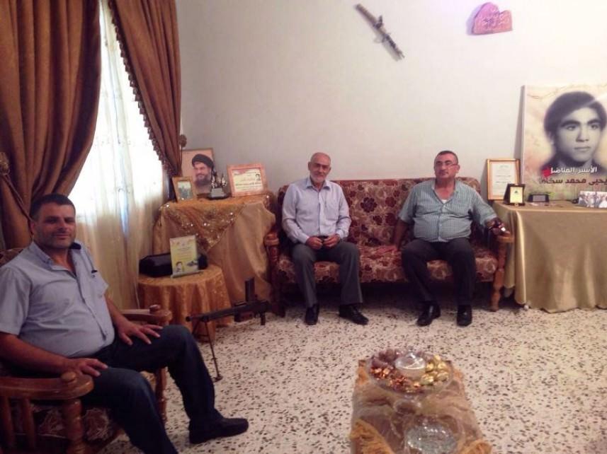 وفد من الجهاد الإسلامي زار عائلة الأسير سكاف || تأكيد وحدة الدم المقاوم